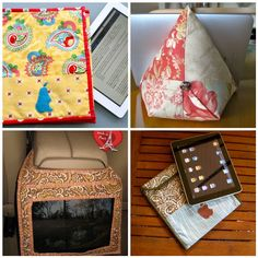 4 handmade iPad sewing tutorials