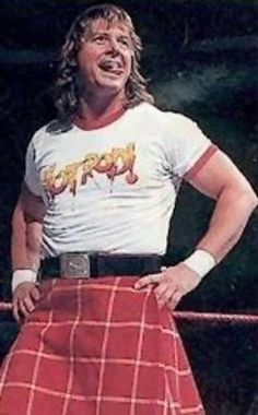 Rowdy Roddy Piper, I had a hard time not putting this in my 'for the home' board because.. well yeah.