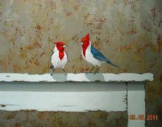 sin nombre Monica Goetze - Artelista.com Artist Problems, Flag Art, Decoupage, Landscape Paintings, Flower Paintings, Acrylic Paintings, Bird Art, Art World, Watercolor Art