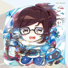 Mei Keychain by hecoheio