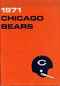 1971 Chicago Bears Media Guide