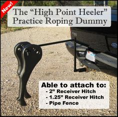 Team Roping High Point Heeler Roping Dummies
