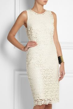 Burberry Prorsum | Crocheted lace dress | NET-A-PORTER.COM