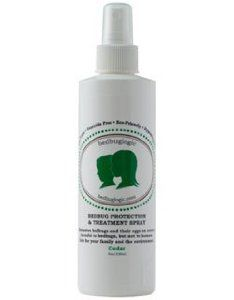 BedbugLogic Protection & Treatment Spray - Non-Toxic - Bed Bug Spray - 8 oz.  need this for work before I go into those nursing homes
