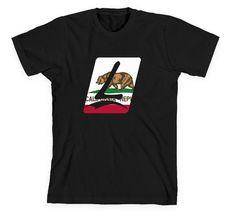 Launch California Tee Black