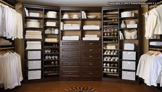No reason why something as utilitarian as a closet shouldn't be beautiful (as much as it is useful).