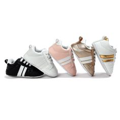 baby shoes first walkers soft leather baby boys girls infant shoes slippers Baby Moccasins, Leather Moccasins, Baby Sneakers, Baby Shoes, First Walkers, All About Fashion, Kids Wear, Baby Love, Soft Leather