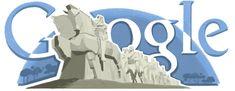 119 aniversario del nacimiento de Víctor BrecheretDoodleando, Los Logos de Google