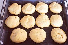 Ψωμάκια για Μπέργκερ Burger Buns, Food Processor Recipes, Bread, Brot, Baking, Breads, Buns, Hamburger Buns