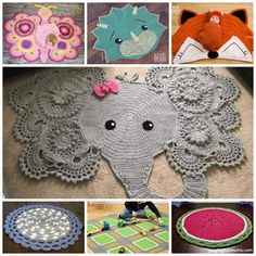 Adorable Crochet Rug Patterns and Designs!