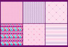 Girly Heart Patterns