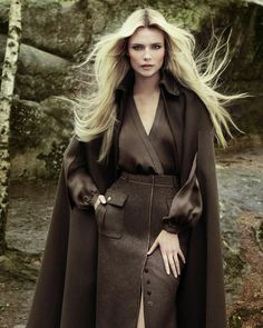 Natasha Poly | Vogue Turkey September 2012.