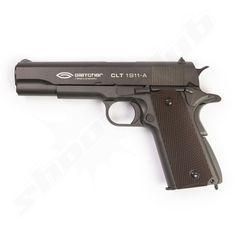 Gletcher CLT 1911-A CO2 Softair BlowBack Pistole Kal. 6mm Softair BBs - Vollmetall -