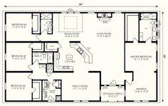 5 bedroom floor plans 1 story with bedroom floor plans one story ...