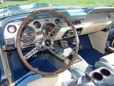 1967 Mustang Fastback GT Interior