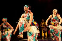 Taratibu Youth Association performing Sorsonet - 4th Annual Black History Month Show - February 18, 2012