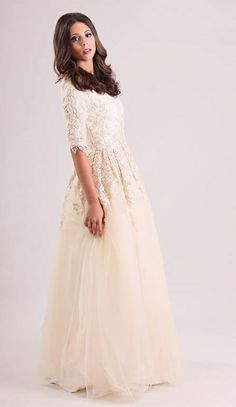 Marelus Bridal Modest Wedding Dress