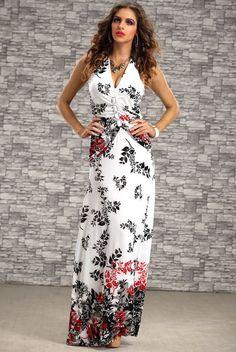 Comfortable fabric summer beach maxi dresses long 2015