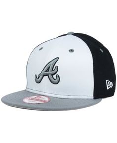 New Era Atlanta Braves Front Base 9FIFTY Snapback Cap
