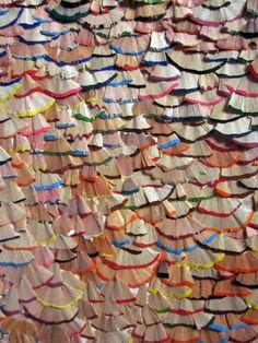 Finding The Beauty In The Discarded Je zou dit ook als dakbedekking kunnen gebruiken.