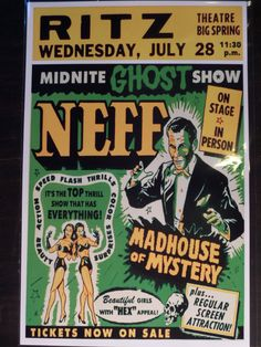 Dr. Neff Madhouse of Mystery Spook Show EVENT by PsychoSwami