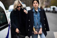 PFW Street Style Day 5 - Photos: Paris Fashion Week Fall 2014 Street Style   W Magazine     Leandra Medine +   February 27, 2014 05:26 PM   by Adam Katz Sinding