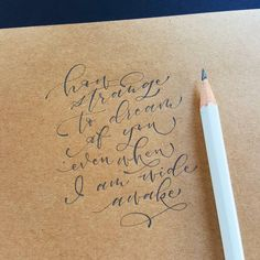 "2,482 Likes, 18 Comments - May (@minortismay) on Instagram: ""#pencilcalligraphy  #pointedpencalligraphy  #brushletterpracticechallenge #brushcalligraphy…"""