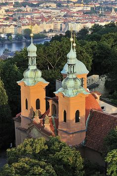 View from Petrin Tower | Flickr - Photo Sharing!