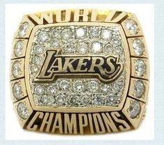 2000 Lakers championship ring basketball World championship ring custom custom engraved championship rings