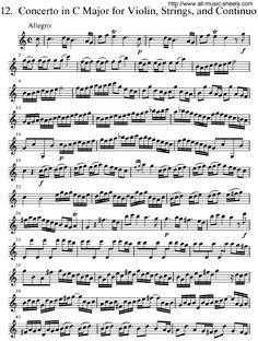Violin Concerto Op. 8, No. 12 in C major, RV 178