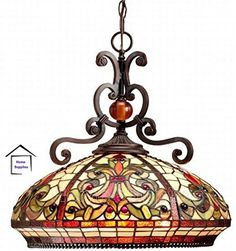 REAL STAINED GLASS TIFFANY STYLE HANDCRAFTED PENDANT LIGH... https://www.amazon.co.uk/dp/B014FMVDNG/ref=cm_sw_r_pi_dp_x_luWkyb69DHFAV