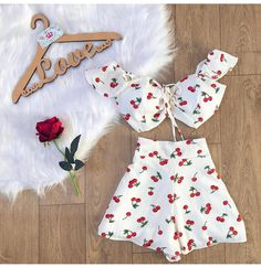 Mode Rockabilly, Teen Fashion, Fashion Outfits, Mode Simple, Summer Outfits For Teens, Vacation Outfits, Teenager Outfits, Two Piece Outfit, Cute Casual Outfits