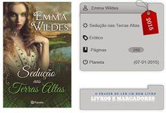 Livros e marcadores: Sedução nas Terras Altas de Emma Wildes