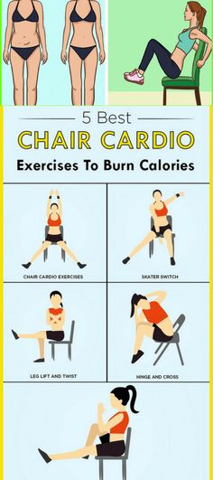 Burn More Calories By Doing. These 5 Best Cardio Exercises On Chair!!! - All What You Need Is Here