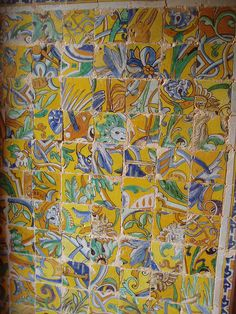 Random Tile Collage, Alcazar, Seville by Aidan McRae Thomson, via Flickr
