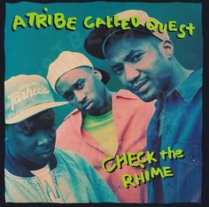 A Tribe Called Quest - Check The Rhime (CD) at Discogs