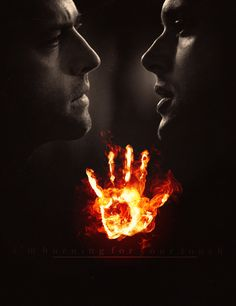 Can you just imagine if the hand print on Dean's arm burned every time Cas came near? Like Harry and Voldemort, but less scary.