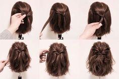 7 magnifiques coiffures pour les cheveux courts - 100% féminin