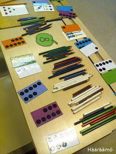 Teaching Math, Maths, Math For Kids, Preschool Crafts, Count