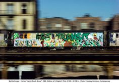 "the south bronx culture | Martha Cooper - ""Art vs. Transit, South Bronx"", 1982 - Edition of 9 ..."