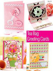Card Paper Crafts - Tea Bag Greeting Cards - #AG01192