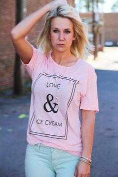 Love & Ice Cream, $39.00, The Rage
