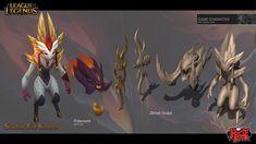 Duy Khanh Nguyen: Shadow Fire is a launch skin for champion - Kindred. Base on the Dark and Light - Life and Death thematic. Concept by Paul Kwon https://www.artstation.com/artist/zeronis-pk and Paul Hoefener http://www.paulhoefener.com/. Splash art by Jean Go. Scroll down for model viewer.