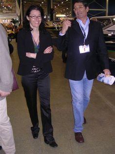 A passeggio con Andrea Palagi alla fiera nautica di Shanghai aprile 2005