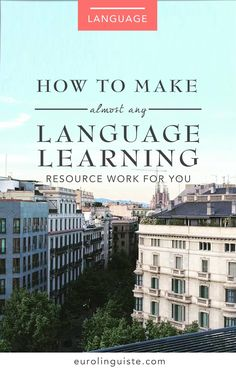 Today I'd like to talk about something that we've all probably experienced as language learners. A lot of us – but not all – have the tendency to be resource collectors. We have hundreds of bookmarks indozens of language learning books, but we have yet to actually work our way from cover to cover in any one of them. I'm certainly guilty of this, and... Keep Reading...