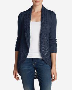 Women's Peakaboo Cardigan Sweater | Eddie Bauer