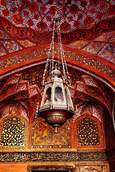 Emperor Akbar's Mausoleum Agra, India. The Mughal Era - Design and Architecture. Islamic Architecture, Art And Architecture, Beautiful Architecture, Le Far West, Moroccan Style, Moroccan Lamp, Moroccan Lighting, Moroccan Design, Arabian Nights