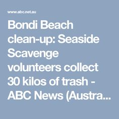 Bondi Beach clean-up