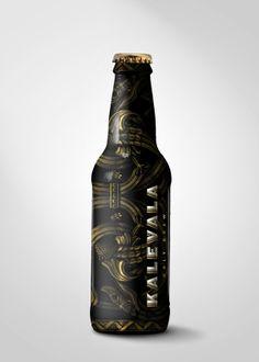 Kalevala Brewing Co. by Josh Parenti, via Behance #taninotanino #vinosmaximum