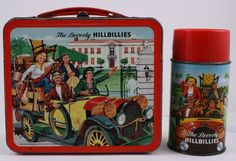 The Beverly Hillbillies 1960s Vintage Aladdin Lunch Box with Metal Thermos